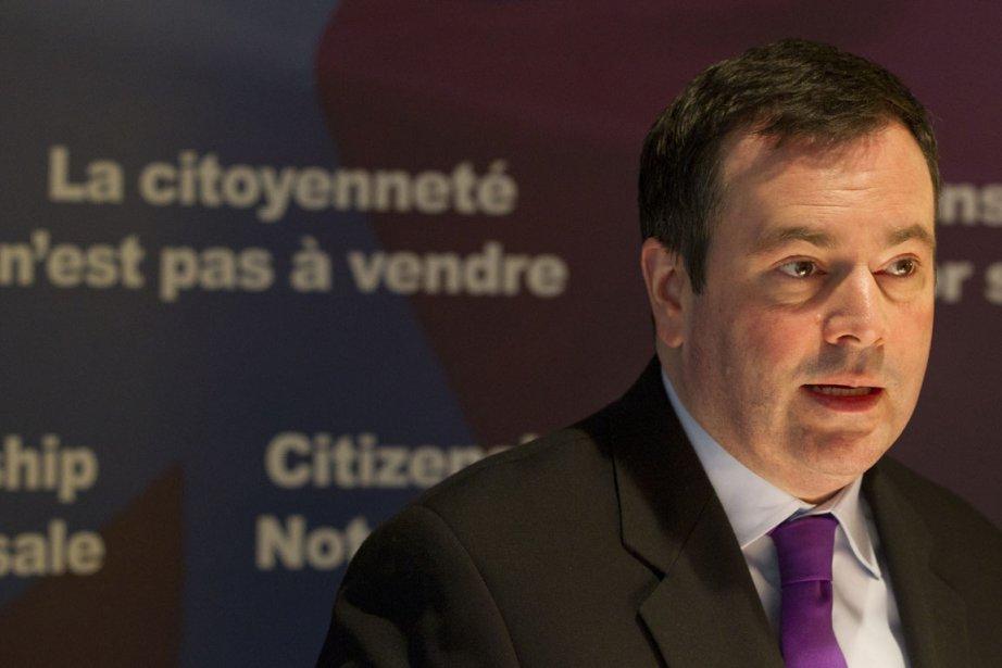Le ministre fédéral de l'Immigration, Jason Kenney.... (Photo: Ivanoh Demers, Archives La Presse)