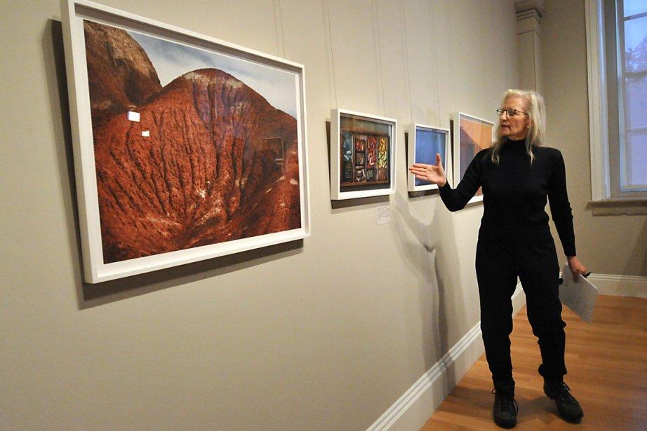 Annie Leibovitz lors du vernissage de son exposition... (Photo: Karen Bleier, AFP)