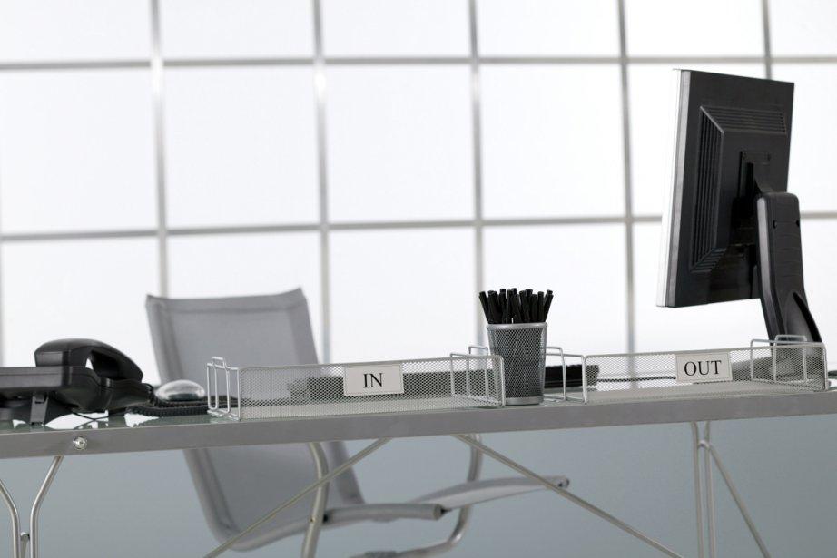Une nouvelle étude montre que l'air des bureaux -- surtout ceux... (Photos.com)