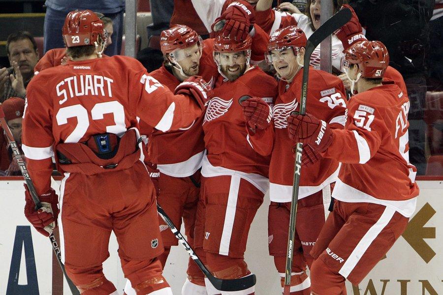Les Red Wings de Detroit ont remporté 17... (Photo: AP)