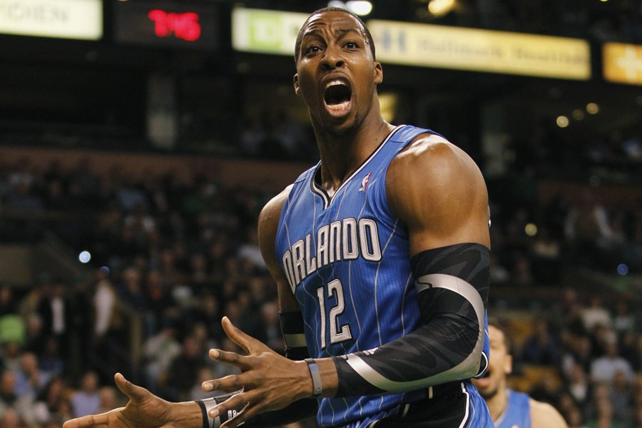 Dwight Howard va rejoindre Kobe Bryant, Pau Gasol... (Photo: Reuters)