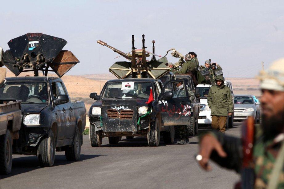 La ville libyenne de Bani Walid, un ancien bastion de Mouammar... (Photo AFP)