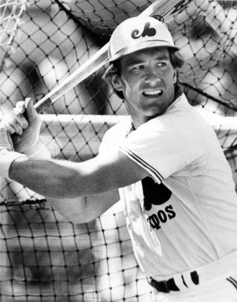 Gary Carter durant une pratique au bâton, en 1977. (archives La Presse)