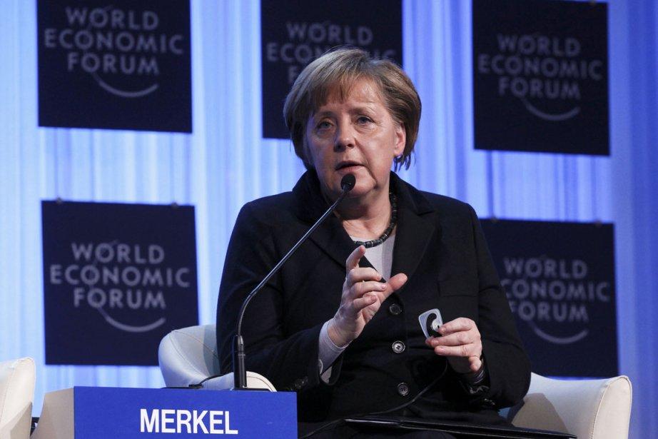 La chancelière allemande Angela Merkel à l'ouverture du... (Photo Reuters)