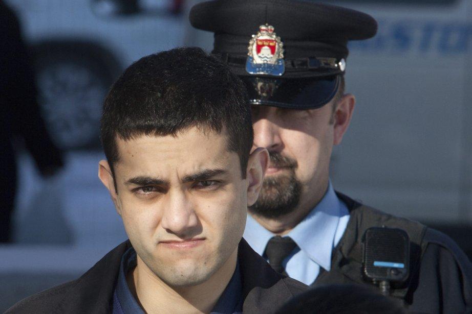 Hamed Shafia, 21 ans, à son arrivée au... (Photo: Lars Hagberg, Archives Reuters)