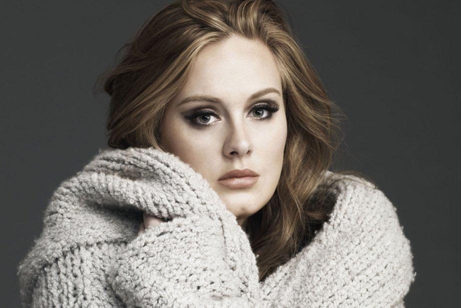 Adele... (Photo archives)