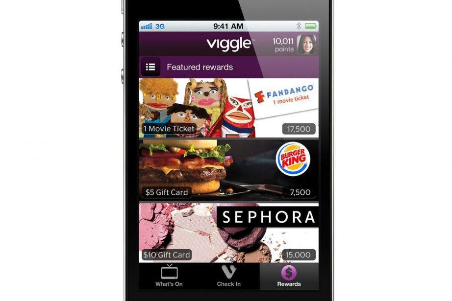 Lorsqu'un utilisateur l'active, Viggle analyse et identifie ce... (Photo: AP)
