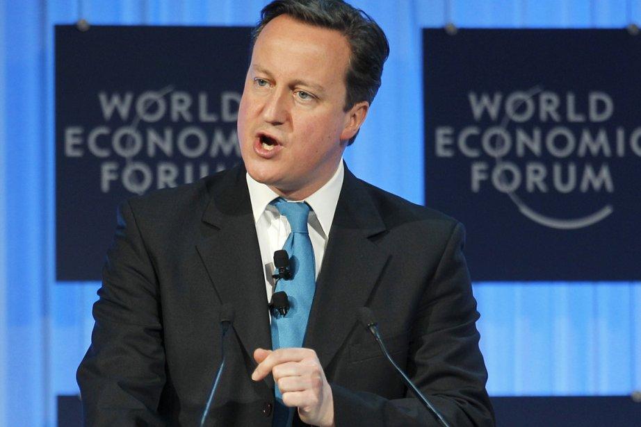 David Cameron... (Photo AP)