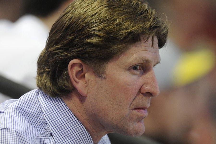 L'entraîneur des Red Wings de Detroit, Mike Babcock,... (Photo: Bernard Brault, La Presse)