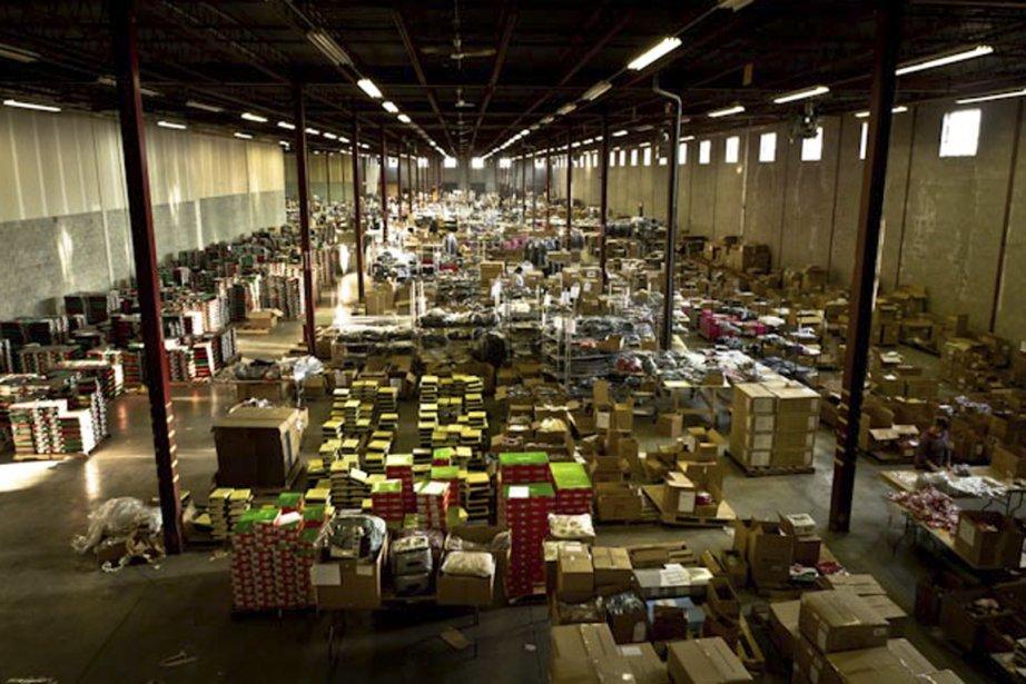L'entrepôt de Beyond the rack.... (Photo fournie par l'entreprise)
