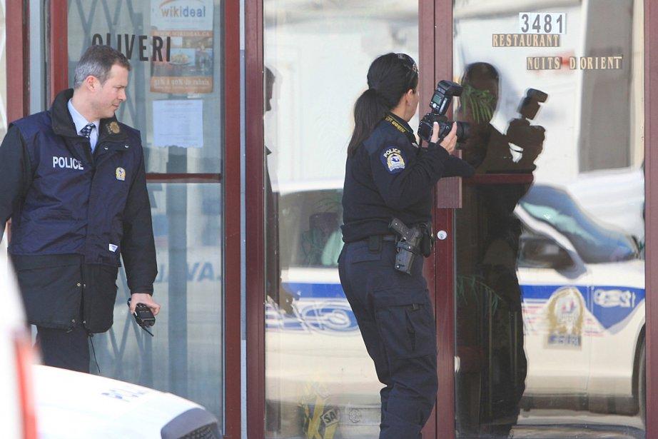 Des perquisitions ont été menées dans deux résidences... (Photo Patrick Sanfaçon, La Presse)