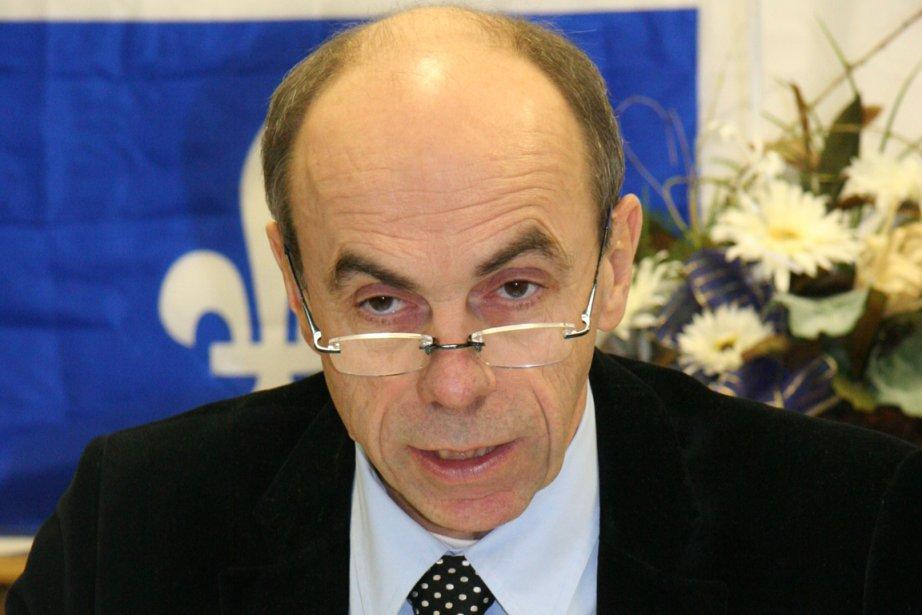 Le député péquiste Denis Trottier a réagi vivement... (Photo: Marie-Ève Roy, Archives Le Quotidien)