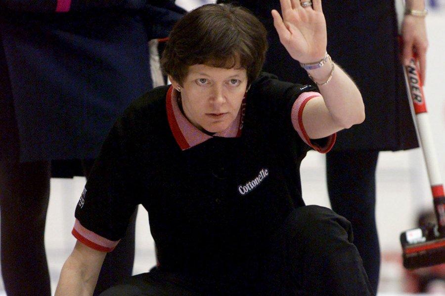 Anne Merklinger a fait partie de l'équipe nationale... (Photo: archives PC)