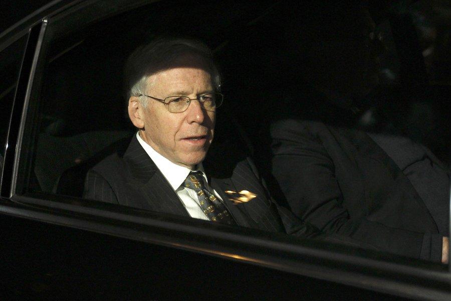 Charles Dallara, le patron de l'Institut de la... (Photo: AFP)