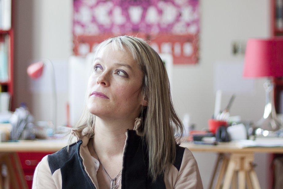 Martine Delvaux décortique le deuil amoureux, avec ce... (Photo: Ninon Pednault, La Presse)