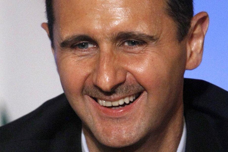 Le président de la Syrie, Bachar al-Assad.... (Photo Reuters)