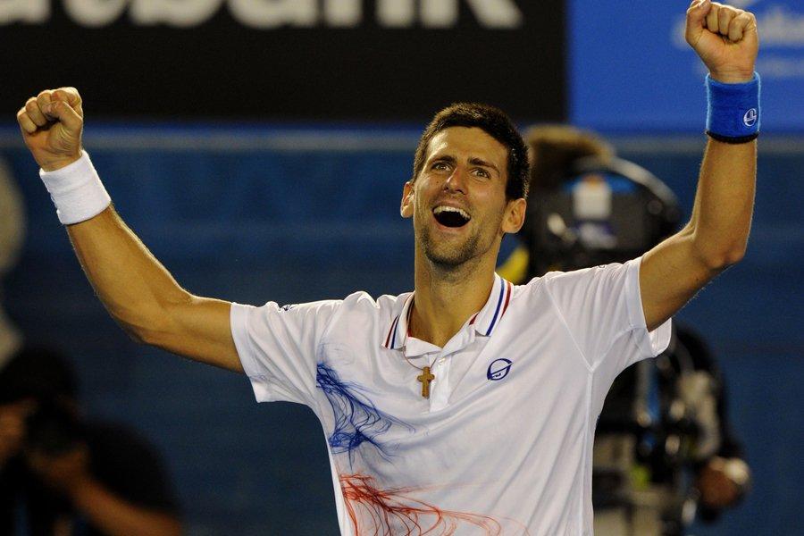Novak Djokovic a remporté un marathon de près... (Photo: AFP)