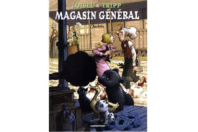 La sympathique série Magasin général se poursuit avec la parution d'un septième...