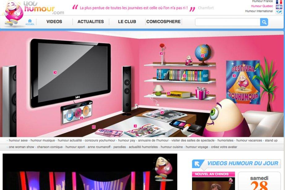 Youhumour Com Un Nouveau Site D Humour Au Quebec La Presse