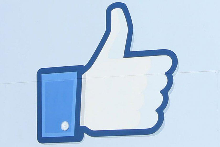 Le célèbre logo «J'aime» rendu populaire par Facebook.... (Photo Reuters)