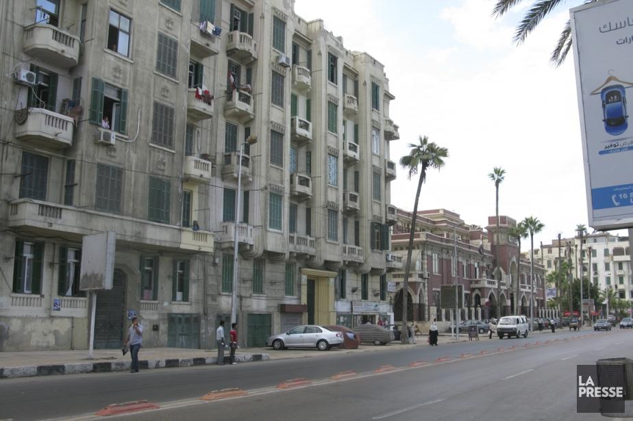 La ville d'Alexandrie.... (Photo archives La Presse)
