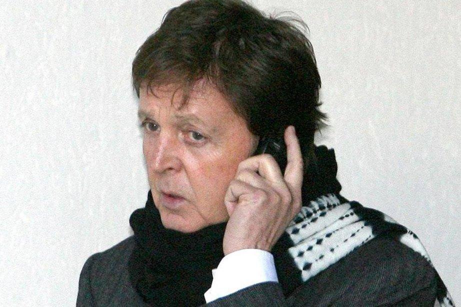 Paul McCartney... (Photo AP)