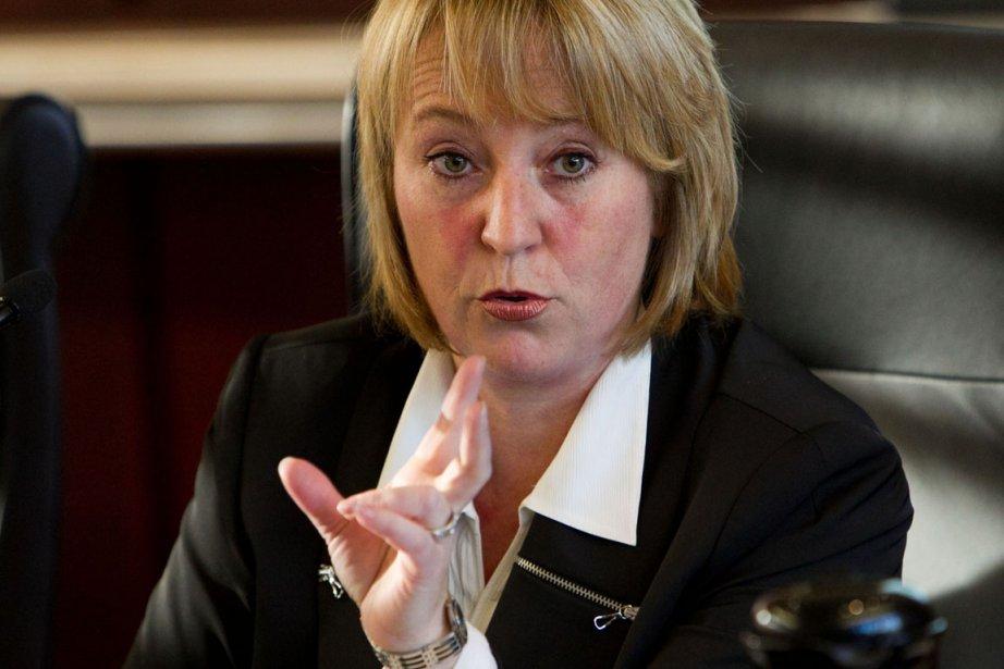 La mairesse de Longueuil,Caroline St-Hilaire.... (Photo: Hugo-Sébastien Aubert, La Presse)
