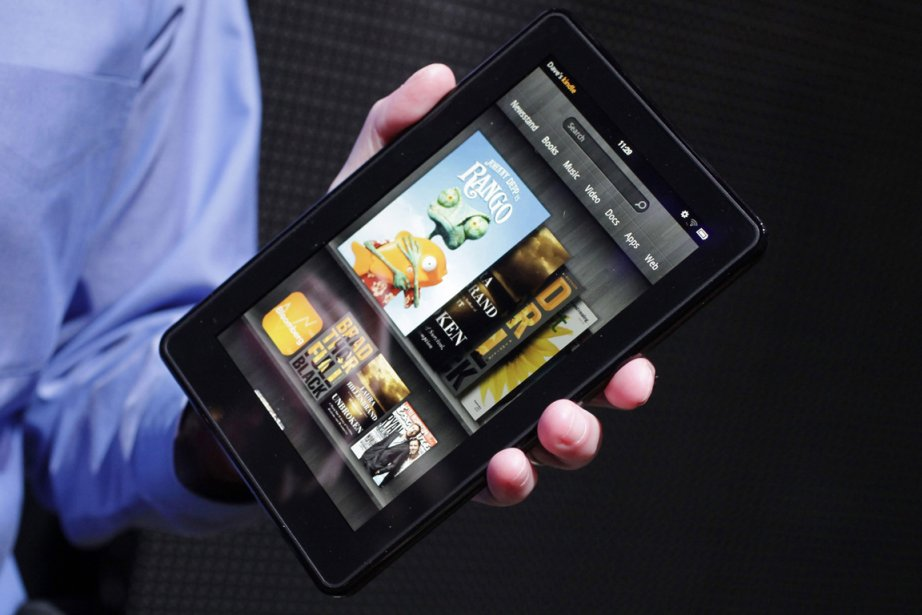 La Kindle Fire... (Photo: PC)