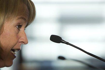 La mairesse de Longueuil, Caroline St-Hilaire.... (Photo: Hugo-Sébastien Aubert, La Presse)