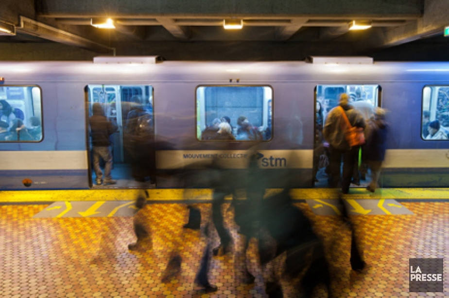 Le prolongement de la ligne bleue du métro... (Photo: Édouard Plante-Fréchette, archives La Presse)