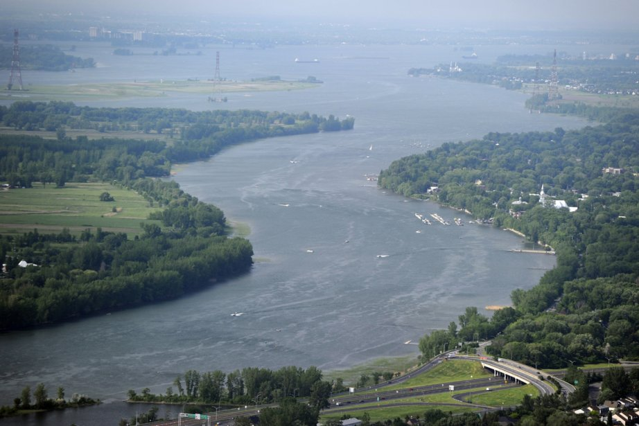 Dans la région de Montréal, les décrues du... (Photo: Bernard Brault, La Presse)