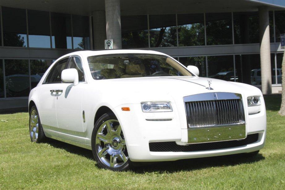 La Rolls-Royce Ghost emprunte 20% de ses composants... (Photo Jacques Duval, collaboration spéciale)