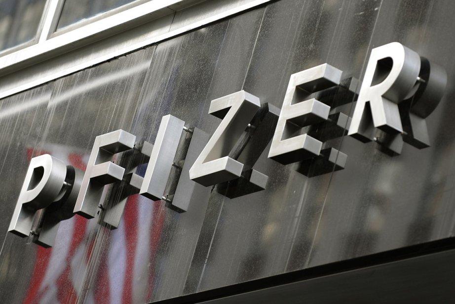 Le logo de la compagnie Pfizer... (Photo: AFP)