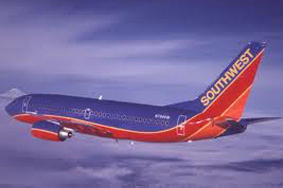L'avion «vert» de Southwest Airlines.... (Photo fournie par l'entreprise)