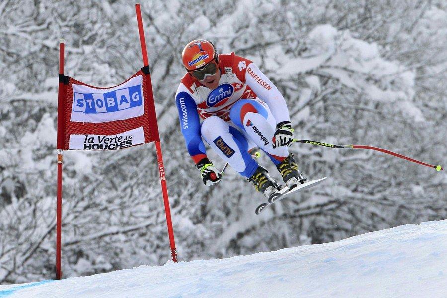 Didier Cuche... (Photo: Reuters)