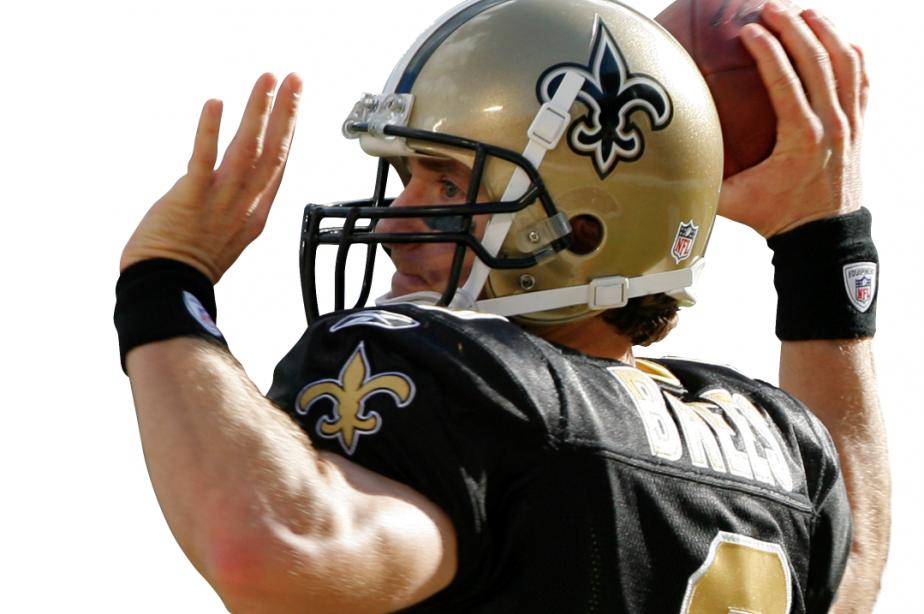 Drew Brees et les Saints sont à la... (Reuters)