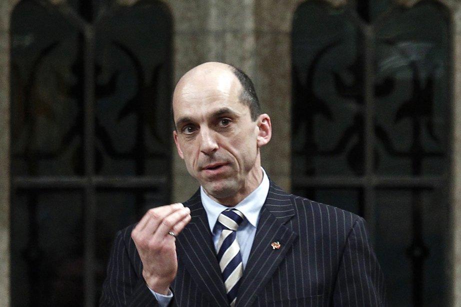 Le ministre des Anciens Combattants, Steven Blaney, a... (Photo : Chris Wattie, Reuters)