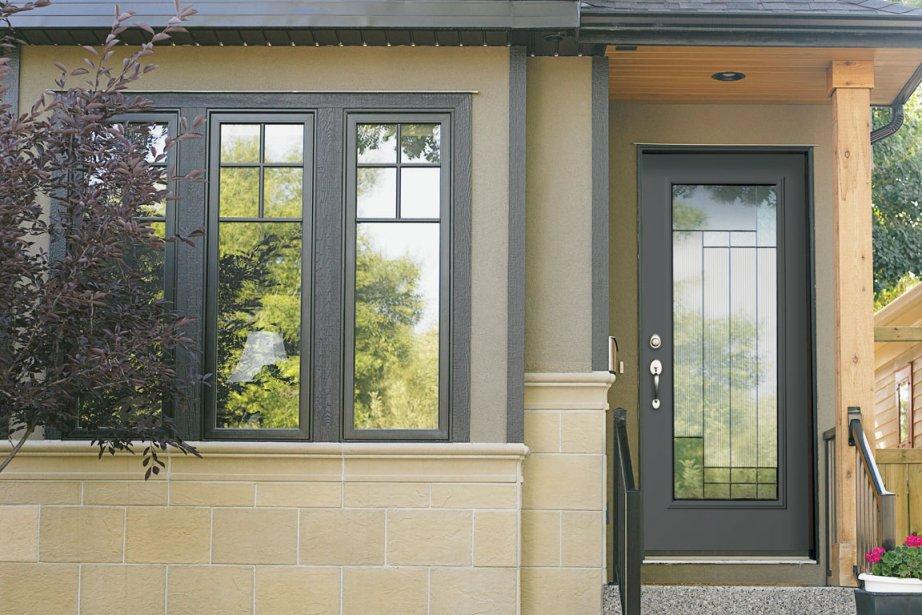 La porte d 39 entr e se fait belle sophie gall habitation for Remplacement vitre porte d entree
