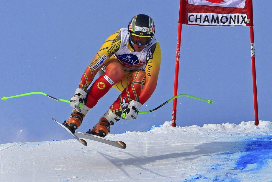 Jan Hudec a remporté l'or samedi à Chamonix.... (Photo: Yves Herman, Reuters)