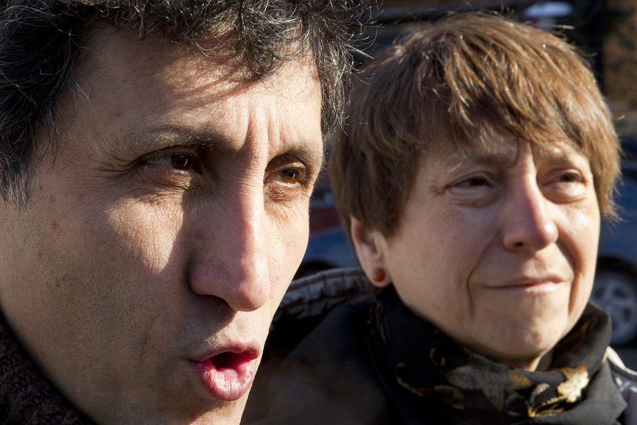 Amir Khadir et Françoise David, porte-paroles de Québec... (Photo: Marco Campanozzi, La Presse)