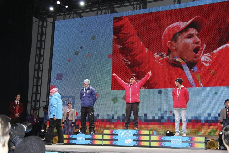 Aux premiers Jeux olympiques d'hiver de la jeunesse,... (Photo fournie par la famille)