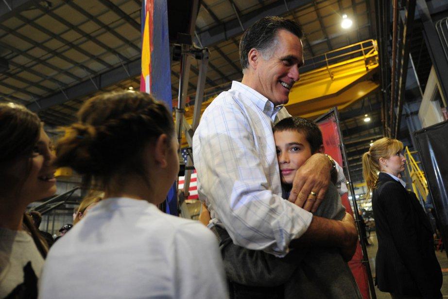Mitt Romney.... (Photo: Emmanuel Dunand, AFP)