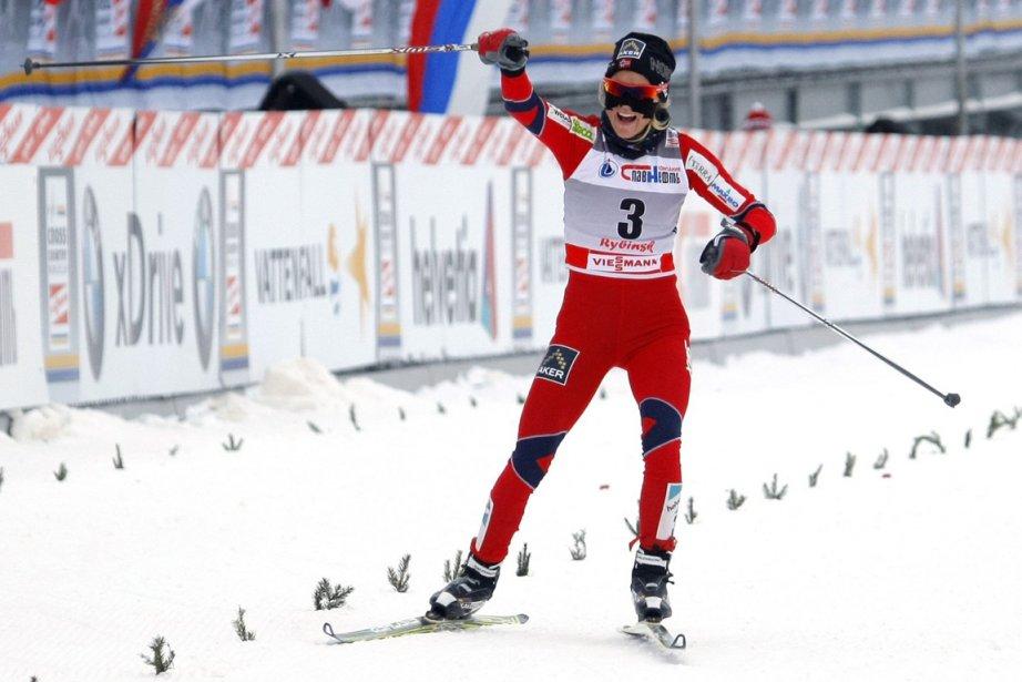Therese Johaug... (Photo AFP)