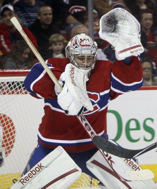 Carey Price a repoussé 23 rondelles. | 5 février 2012