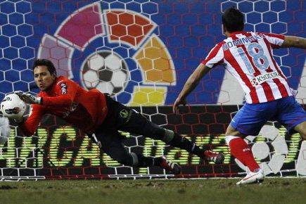 L'Atletico Madrid, pourtant largement dominateur, a été... (Photo: Reuters)