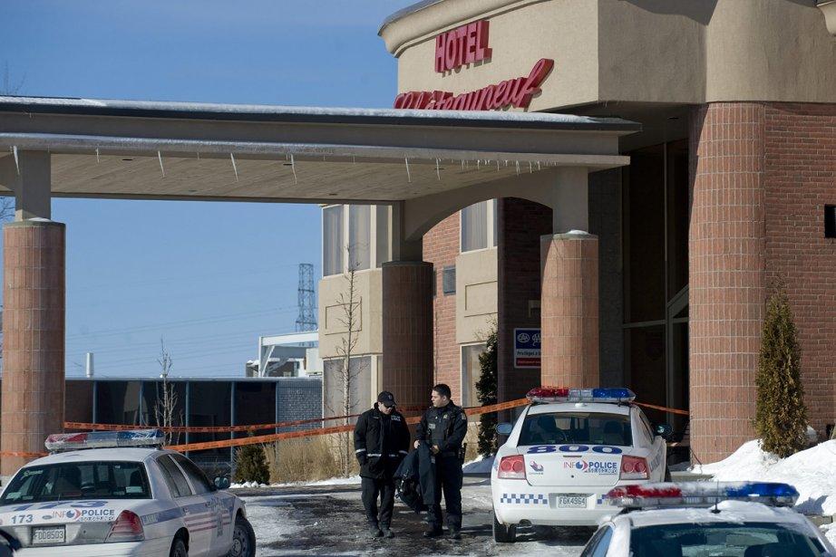 L'ex-policier Ian Davidson s'est suicidé dans une chambre... (Photo: PC)