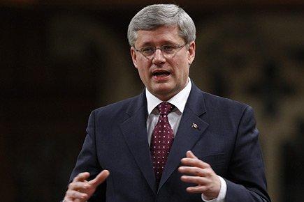 Le premier ministre du Canada, Stephen Harper.... (Photo: PC)