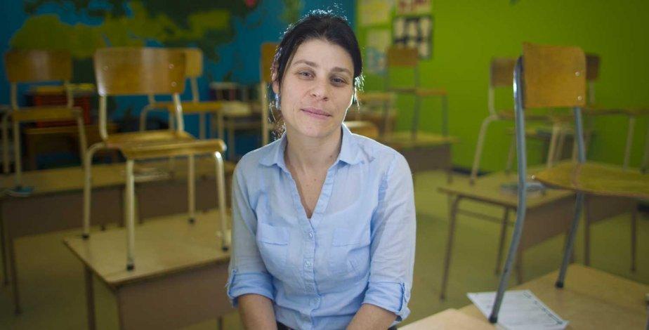 Geneviève Latreille... (Photo André Pichette, La Presse)