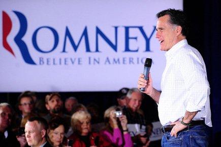 Mitt Romney tentera d'accroître son emprise sur l'investiture... (Photo: Reuters)