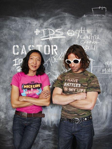 Les designers derrière Castor Design: Kei Ng et Brian Richer. (Photo fournie par Castor Design)